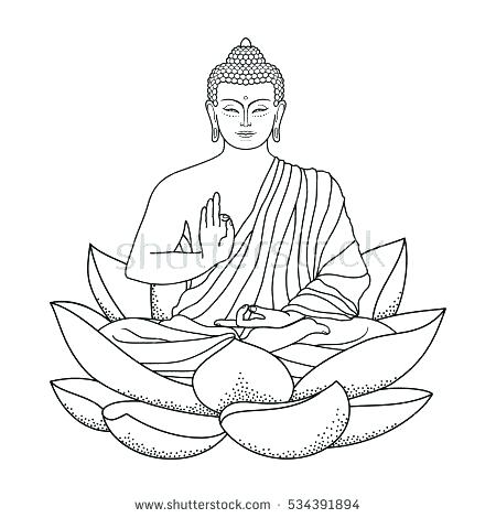 450x470 Buddha Coloring Pages Coloring Pages Buddha Coloring Pages