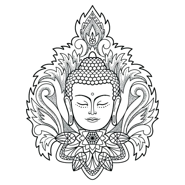 736x736 Buddhist Coloring Pages Coloring Pages Coloring Page Temple