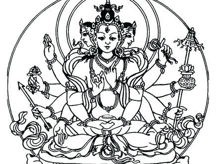 440x330 Buddhist Coloring Pages Coloring Pages Coloring Pages Buddha
