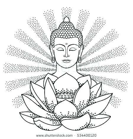 450x470 Buddhist Coloring Pages Coloring Pages Coloring Pages Coloring