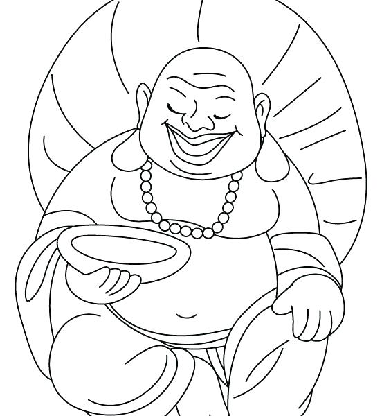 552x600 Buddhist Coloring Pages For Adults Printable