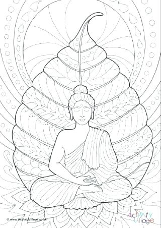 320x452 Buddha Coloring Page Magnificent Outstanding Coloring Pages Image