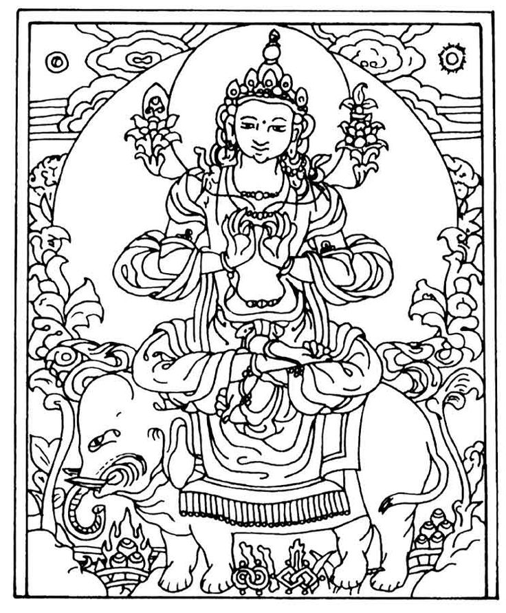 736x891 Buddhist Mandala Coloring Pages Many Interesting Cliparts Buddhist