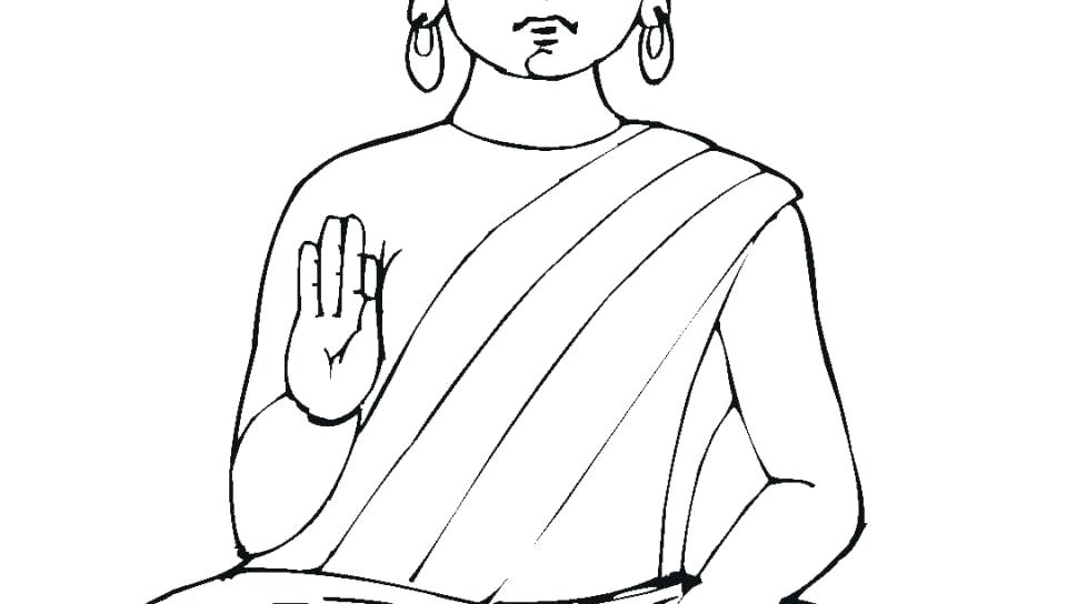 The Best Free Buddha Coloring Page Images Download From 84