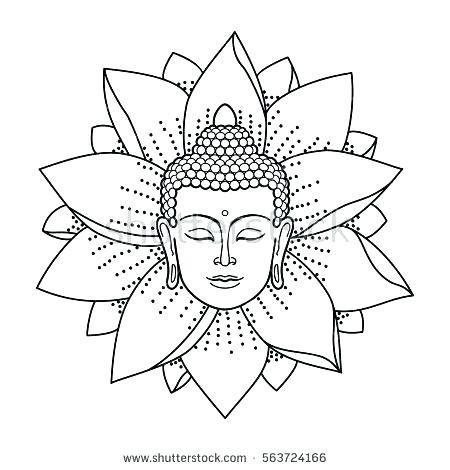450x470 Buddhist Coloring Pages Coloring Pages Coloring Pages Buddha