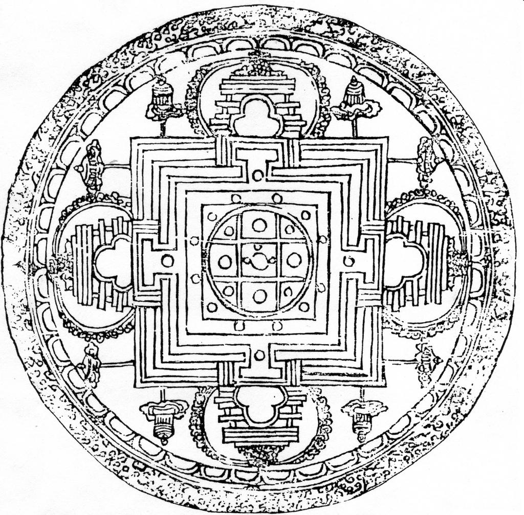 1024x1007 New Buddhist Mandala Google Search Mandalas