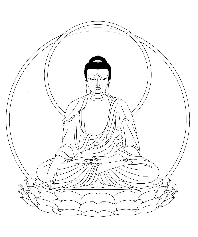 1286x1535 Tibet Justcol And Buddhist Stupa Coloring Page Free Printable