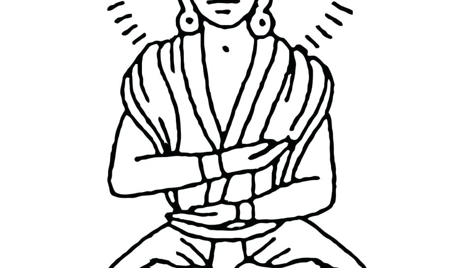 960x544 Buddha Coloring Pages Coloring Page Free Printable Statue