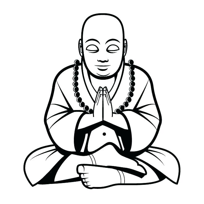 660x660 Buddha Coloring Pages Coloring Pages Coloring Page Lord Statue