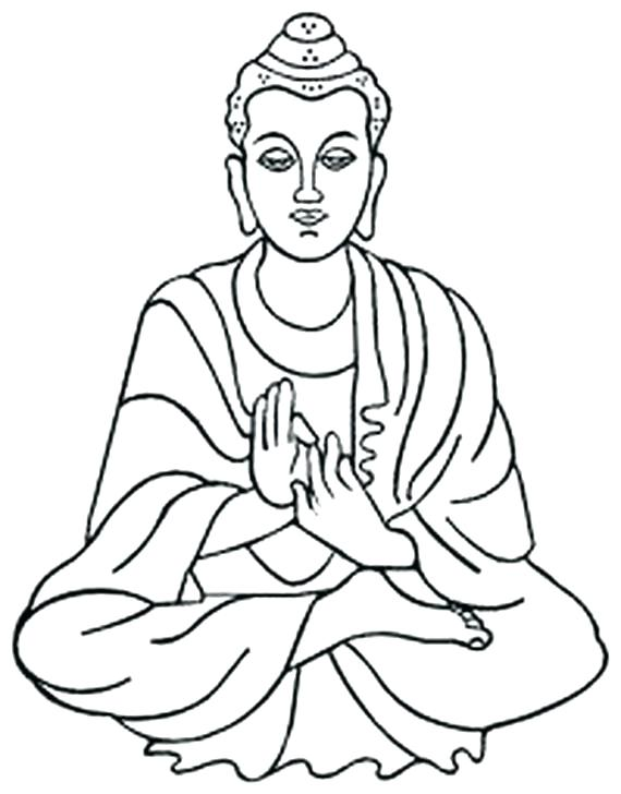 570x728 Buddha Coloring Pages Coloring Pages Lord Coloring Page Kids