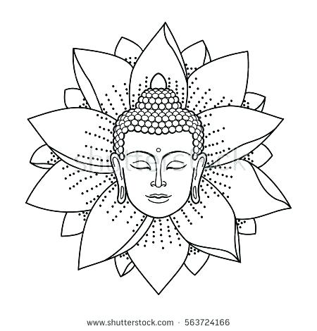 450x470 Buddhist Coloring Pages Coloring Pages Some Fun With Your