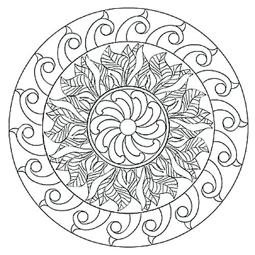 500x500 Mandala Coloring Pages Finest Are Serpent Deities In Cheap Modern