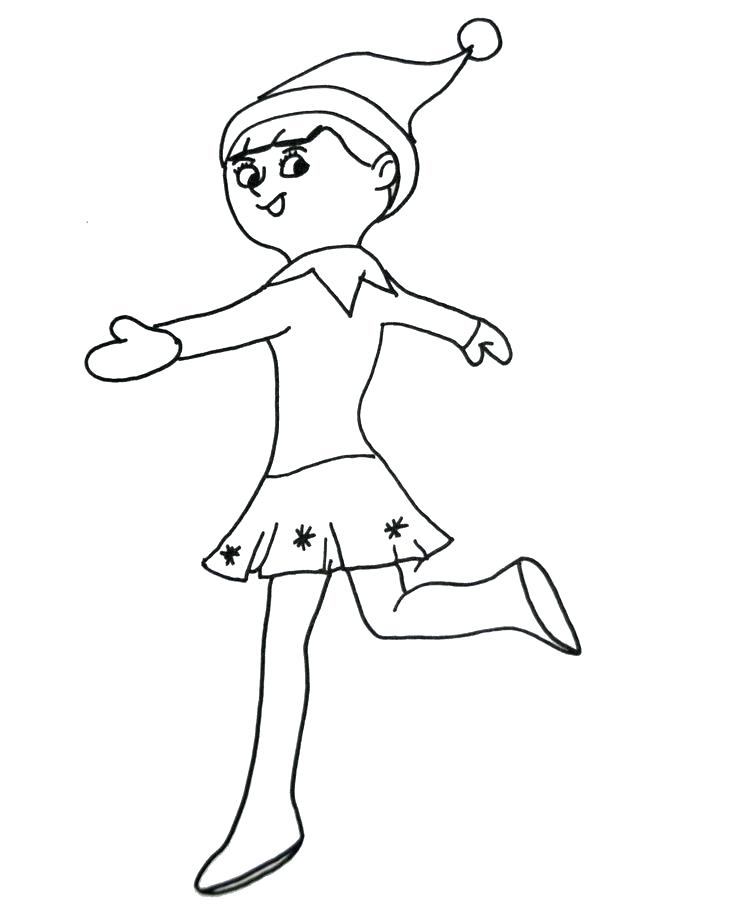 736x920 Elf Coloring Pages Buddy The Elf Coloring Pages Elf On The Shelf
