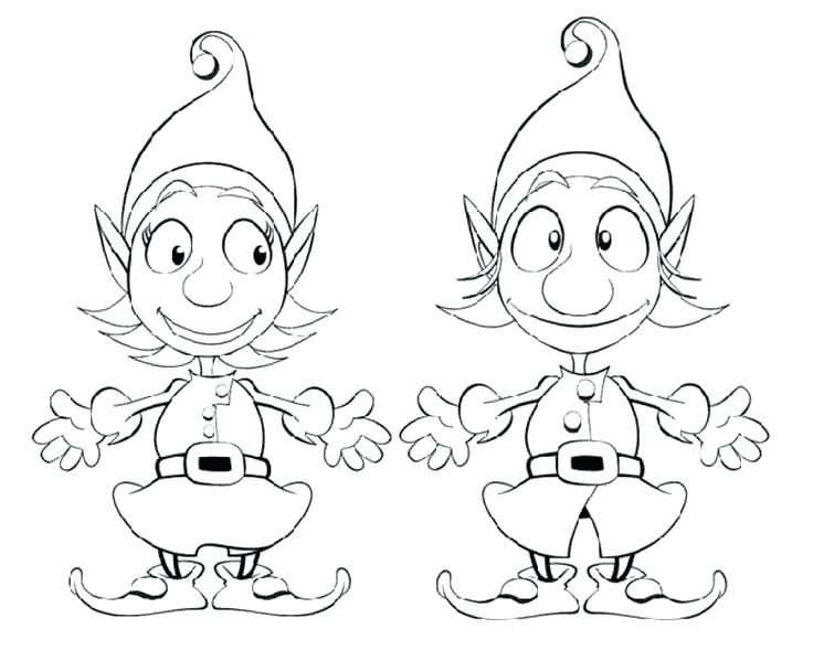 736x589 Elf Coloring Pages Elf Coloring Page Buddy The Elf Coloring Pages