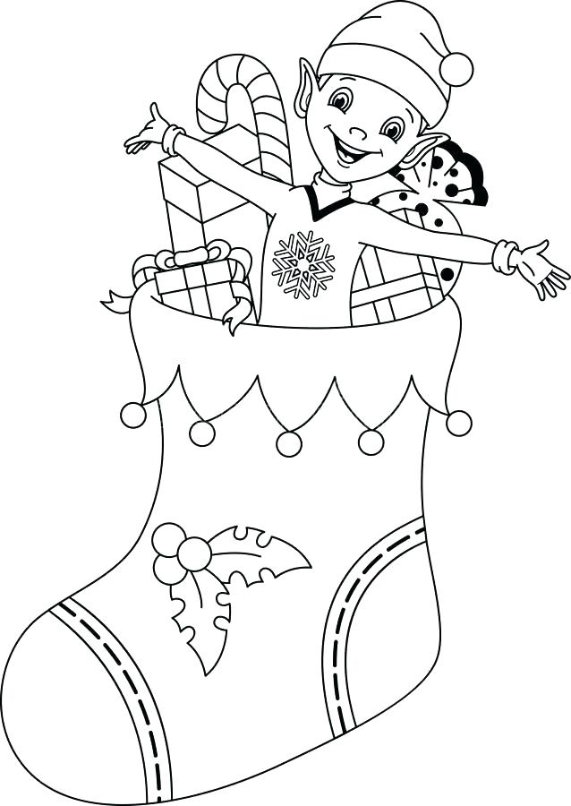 638x900 Mistletoe Coloring Page Elf Coloring Download Elf Coloring Page