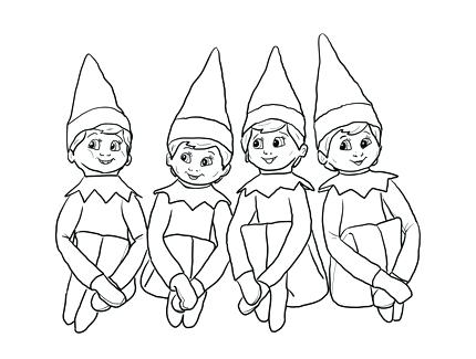 430x325 Buddy The Elf Coloring Pages