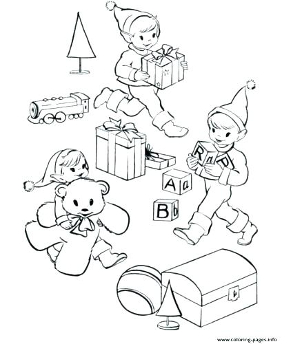 409x500 Buddy The Elf Coloring Pages