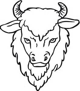 264x300 Buffalo Coloring Pages Printable