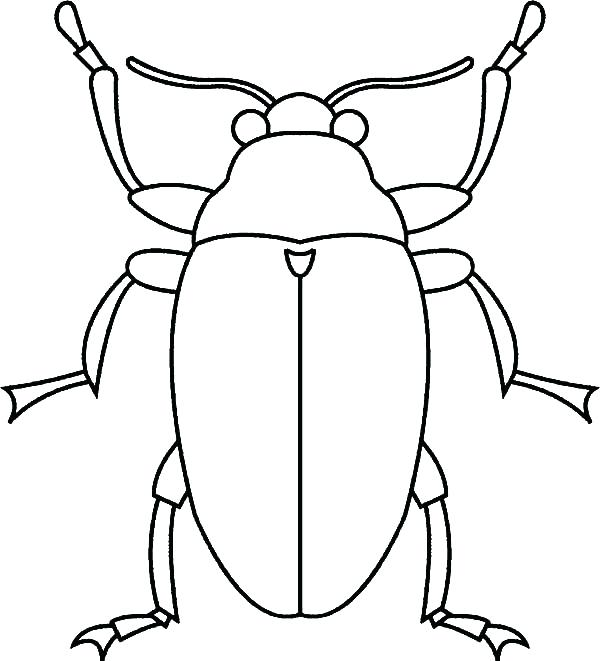Bug Coloring Pages At Getdrawings Com Free For Personal Use Bug