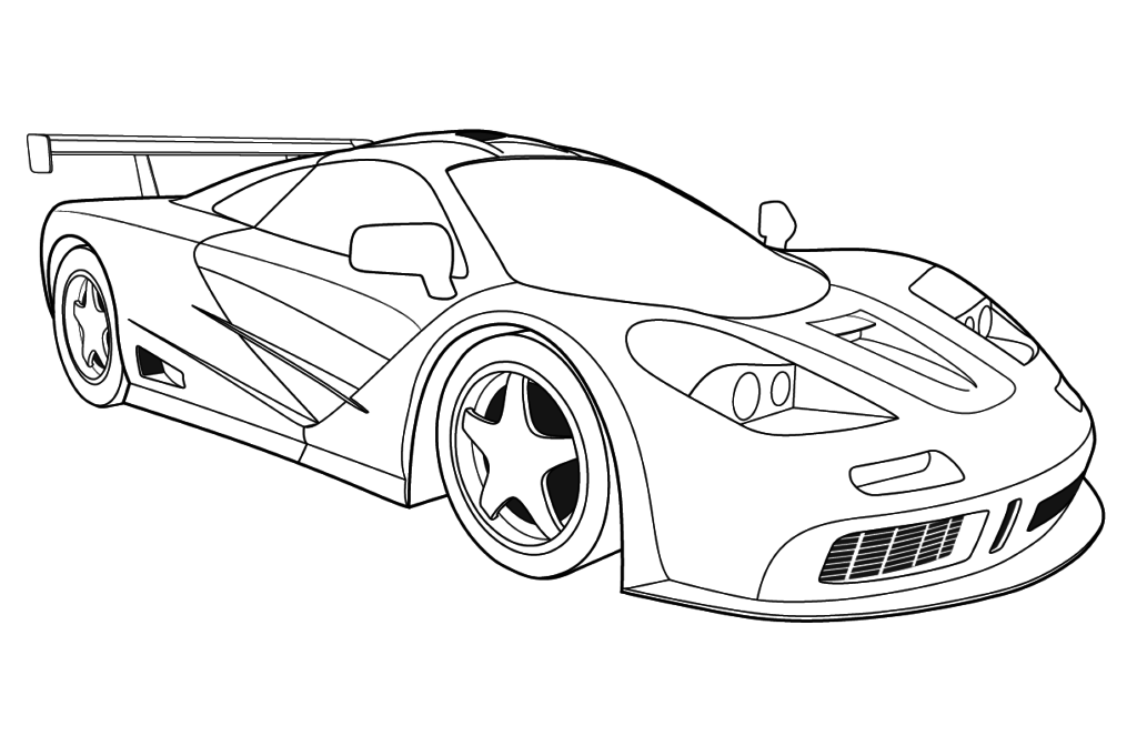 Bugatti Car Coloring Pages At Getdrawings Com