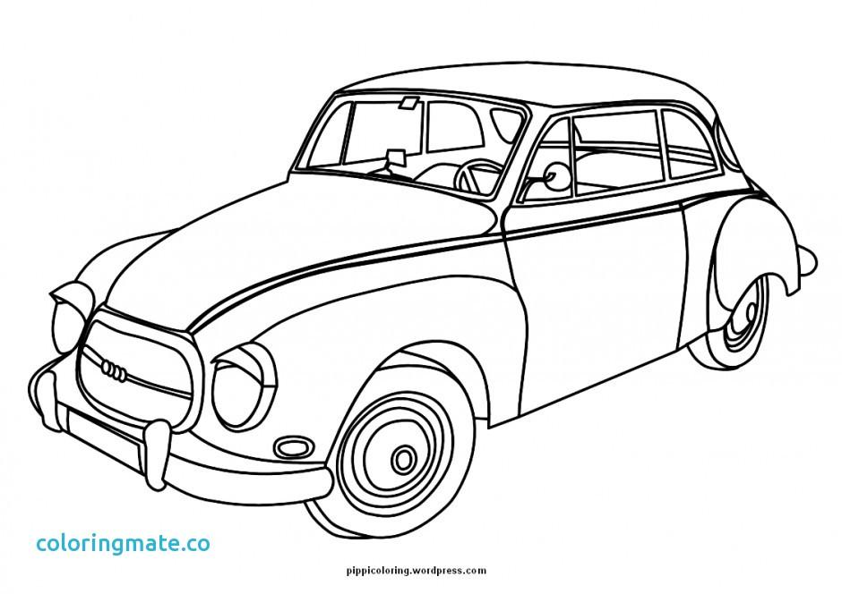 Bugatti Chiron Coloring Page