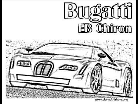 Bugatti Coloring Pages