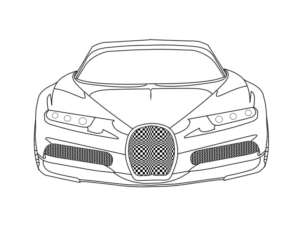 Bugatti Coloring Pages at GetDrawings | Free download