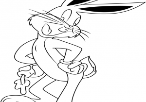 300x210 Coloring Pages Carrot Coloring Page Ba Bugs Bunny In The Music