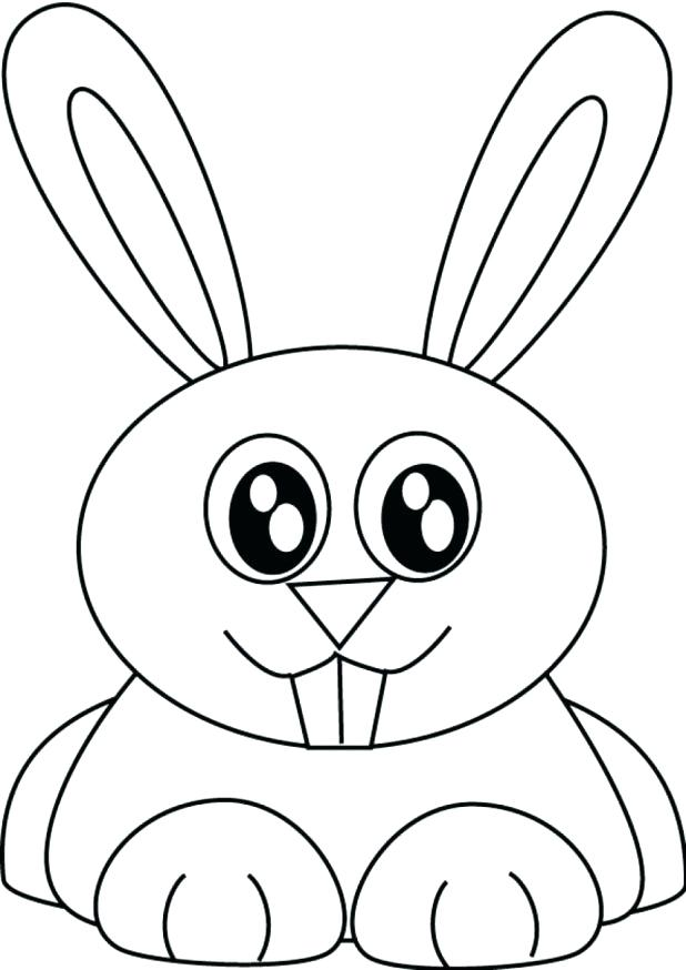 618x874 Stunning Outstanding Bunny Coloring Pages Free Kids Printable