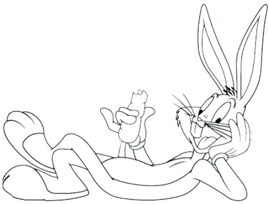 550x419 Bugs Bunny Coloring Pages Bugs Bunny Coloring Pages Bugs Bunny