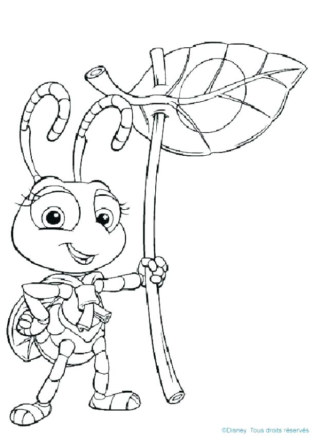 607x850 A Bugs Life Coloring Pages A Bugs Life Coloring Page Bugs Life
