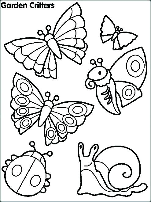 494x659 Bugs Coloring Pages Insects Coloring Pages Bugs Coloring Page