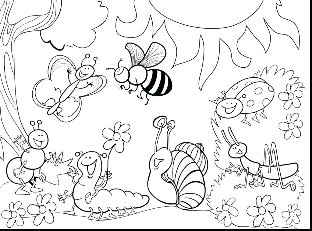 1024x758 Insects Coloring Pages Bugs And Insects Coloring Pages Printable