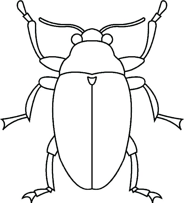 600x661 Coloring Page Bugs