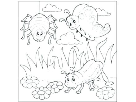 439x330 Bug Coloring Page Entertaining Bugs Coloring Pages Best Of Bug