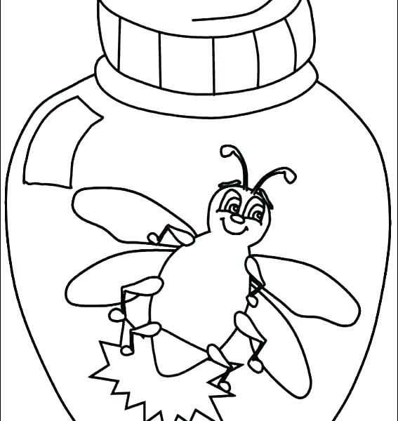 567x600 Bugs Life Coloring Pages Free Printable Leaf Coloring Page