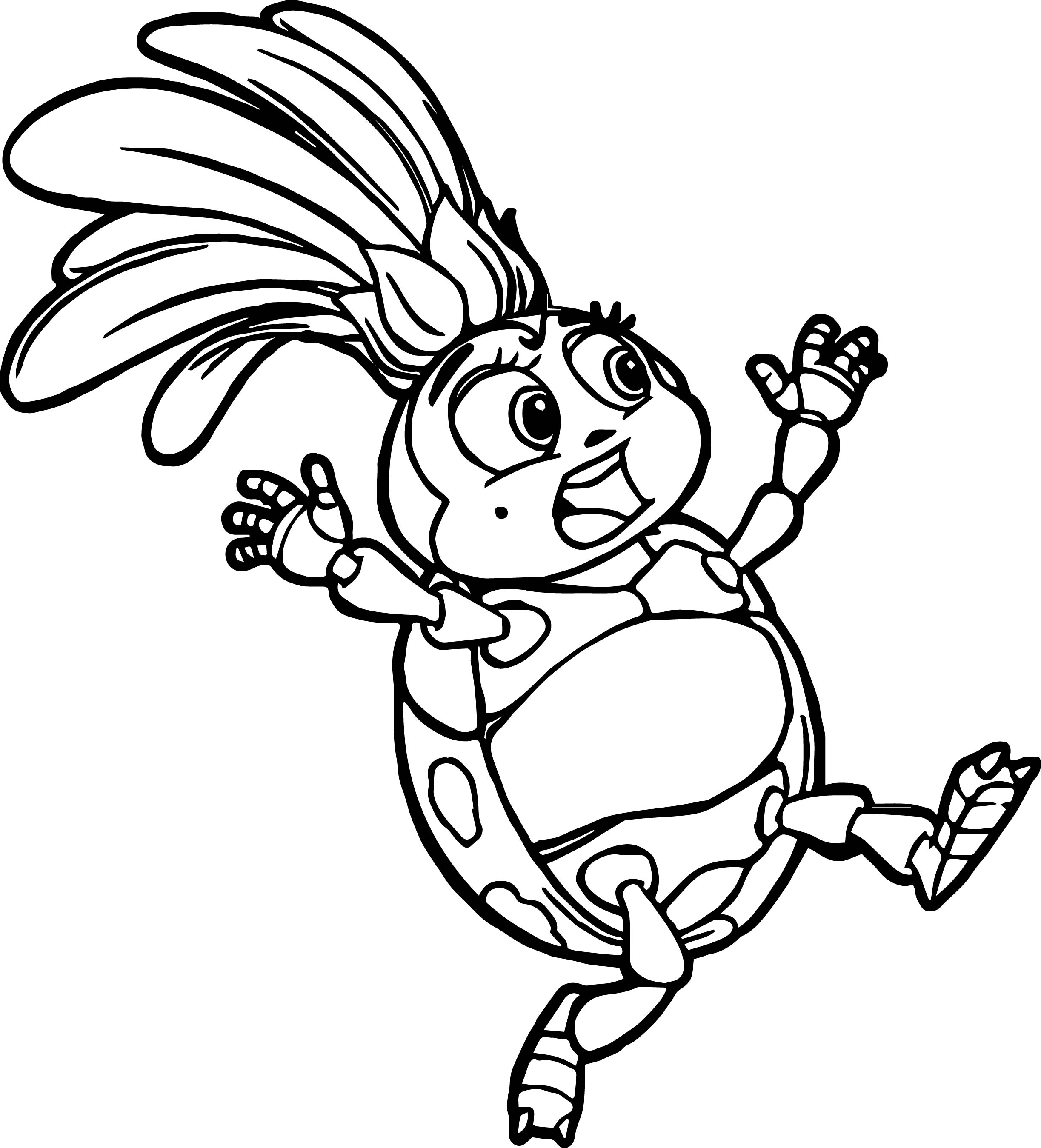 2446x2698 Pill Bug Coloring Page