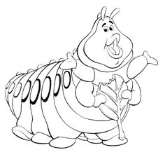 236x234 A Bug's Life Coloring Pages To Print Ant Adult