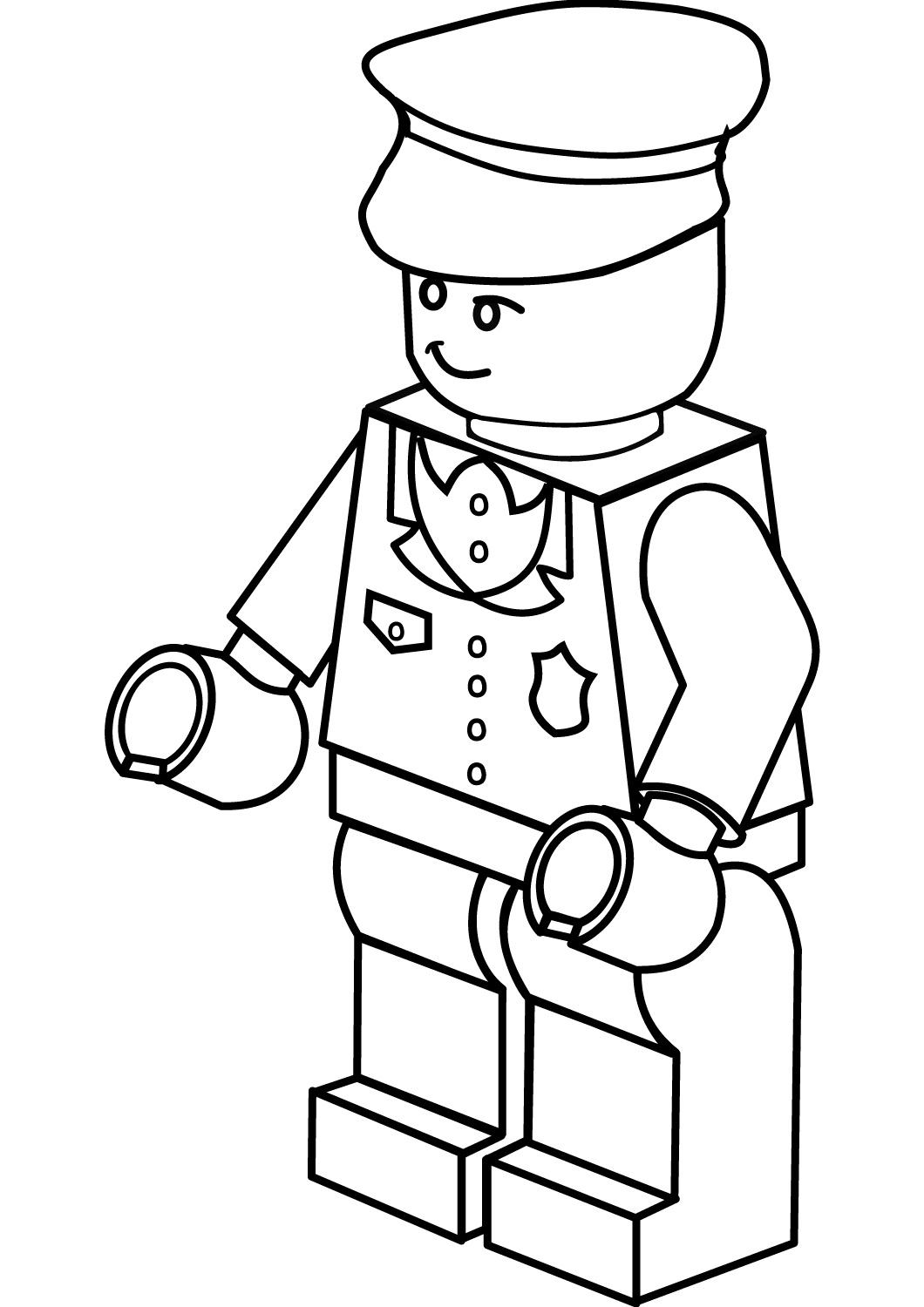 1060x1500 Coloring Pages For Kids And Adults Free Printable Lego Coloring