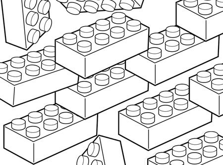 450x334 Blocks Coloring Pages