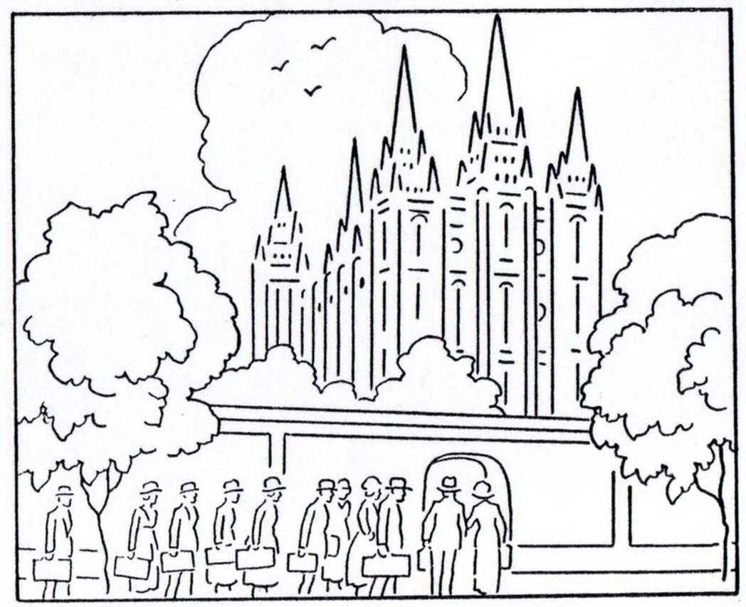 Building The Temple Coloring Pages At Getdrawings Com Free For