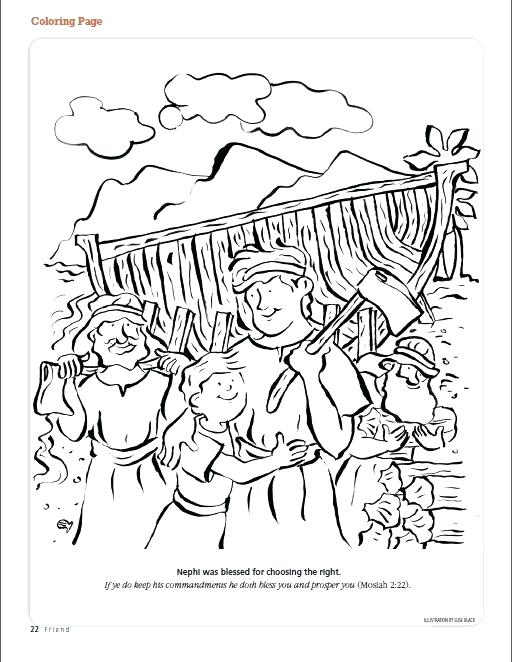 512x662 Lds Temple Coloring Pages Primary Coloring Pages Photograph