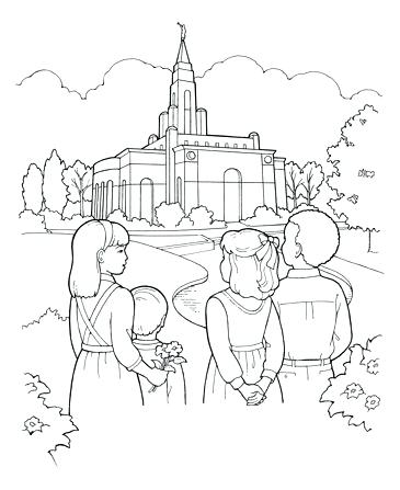 365x447 Coloring Pages Possible Building The Temple