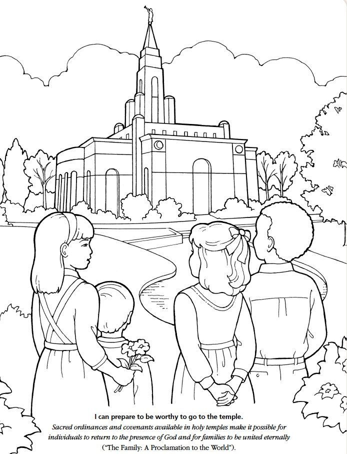 694x908 Lds Children's Coloring Pages Possible