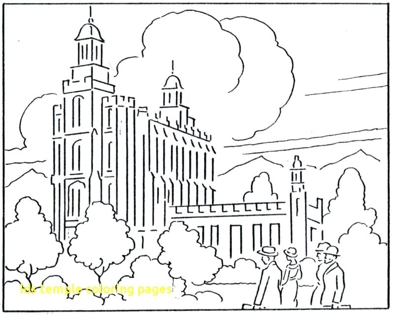 800x644 Salt Lake Temple Coloring Page Temple Coloring Pages Page Temple