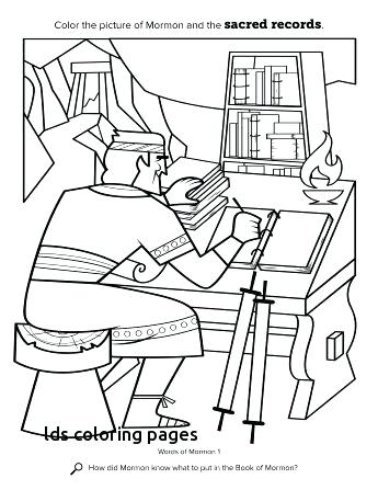 345x447 Lds Church Coloring Pages