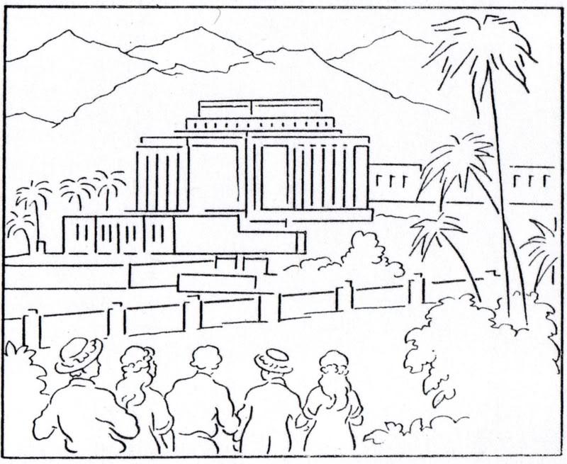 800x655 Temple Coloring Page Lds Lesson Ideas
