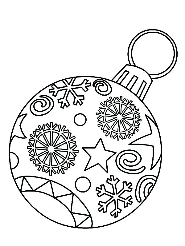 600x800 Christmas Bulb Coloring Page Light Bulb Coloring Page Large