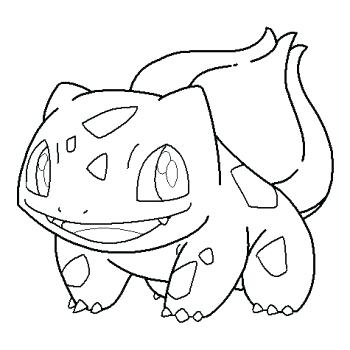 350x350 Bulbasaur Coloring Pages Coloring Page