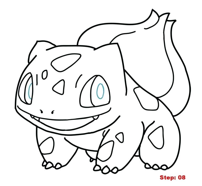 768x706 Bulbasaur Coloring Pages Coloring Pages Printable For Tiny Page